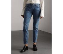 Körperbetonte Jeans aus japanischem Denim mit Nahtdetail