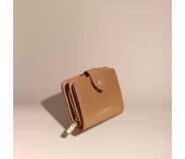 Brieftasche aus London-Lackleder in Glitzeroptik