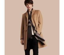 Eleganter Mantel aus Wolle und Kaschmir