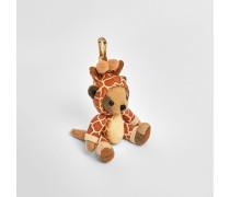 Thomas Teddybär-Anhänger im Giraffenkostüm