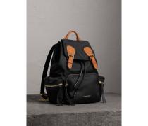 The Medium Rucksack aus Nylon und Leder
