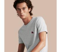 T-Shirt aus fließend weicher Baumwolle