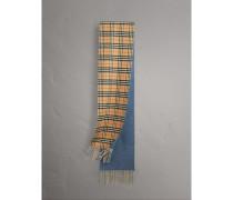 Wendbarer Kaschmirschal mit Vintage Check-Muster