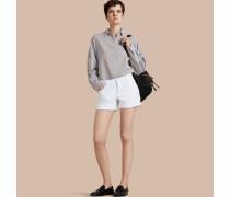 Shorts aus japanischem Denim mit niedriger Leibhöhe