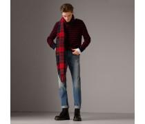 Leger geschnittene Jeans aus japanischem Selvedge-Denim