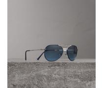 Fliegersonnenbrille im faltbaren Design