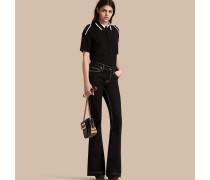 Ausgestellte Jeans Aus Stretchdenim Mit Niedriger Leibhöhe