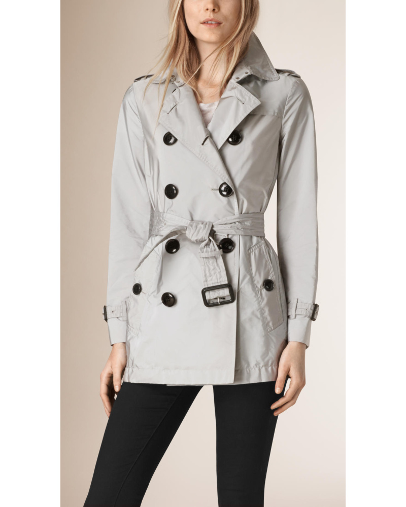 home damen bekleidung trenchcoats burberry brit trenchcoat. Black Bedroom Furniture Sets. Home Design Ideas