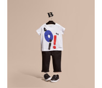T-shirt Aus Baumwolle Mit Grafikmotiv