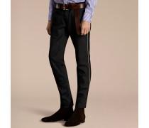 Schmale Jeans im Armeestil