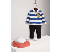 Rugby-Shirt aus Baumwolle mit Druckmotiv