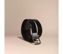 Wendbarer Ledergürtel in Zaumzeug-Optik