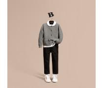 Cardigan aus Kaschmir und Baumwolle