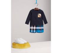 Langarmshirt aus Baumwolle mit Karotasche