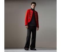 Kurzes Jackett im Uniformstil aus Wolle