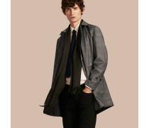 Wendbarer Kurzmantel aus Wolle mit Prince of Wales Check-Muster