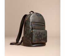 Rucksack In Camouflage-optik