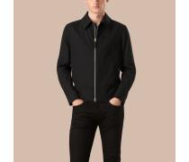 Jacke aus Baumwollgabardine