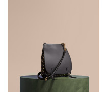 The Small Bridle Bag aus Leder mit Ziernieten