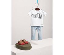 """T-Shirt aus Baumwolle mit """"Attention""""-Motiv"""