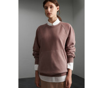 Extragroßes Unisex-Sweatshirt aus Baumwolle