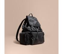 The Extra Large Rucksack aus Nylon und Leder