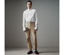 Elegantes Hemd aus Baumwollpopelin