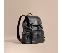 The Large Rucksack aus wasserabweisendem Leder