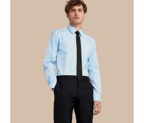 Modern geschnittenes Hemd aus Baumwollpopelin