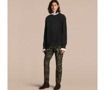 Sweatshirt aus einer Baumwollmischung mit Rittermotiv
