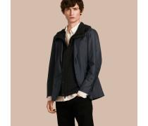 Jacke aus technischer Seide mit herausnehmbarem Futter mit Kapuze