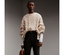 Formschöner Pullover aus Baumwolle