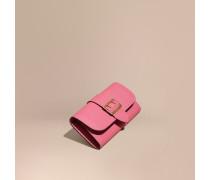 Brieftasche im Kontinentalformat aus strukturiertem Leder