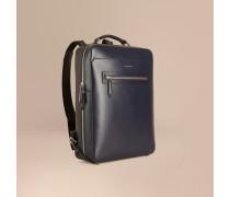 Rucksack aus strukturiertem Leder