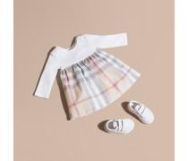 Kleid aus Baumwolle in Check