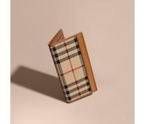Kleine Brieftasche für verschiedene Währungen mit Horseferry Check-Muster