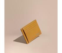 Kartenetui aus London-Leder mit Geldscheinklammer