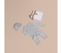 Zweiteiliges Baby-geschenkset Aus Baumwolle