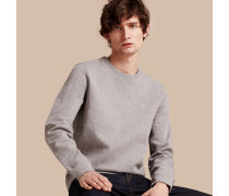 Sweatshirt aus einer Baumwolljersey-Mischung