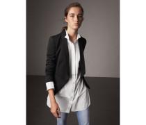 Tailliertes Jackett aus Wolle