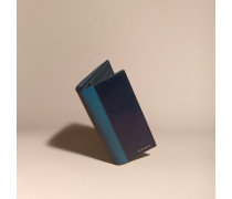 Brieftasche Im Kontinentalformat Aus London-leder Im Colour-blocking-design