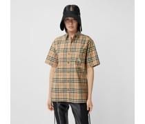 Bluse aus Baumwolltwill