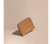 Kartenetui aus London-Leder in Glitzeroptik