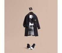 Cardigan aus Wolle und Kaschmir mit Knebelverschluss