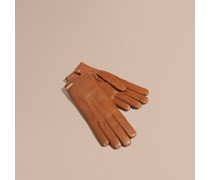 Handschuhe aus Lammleder mit Kaschmirfutter