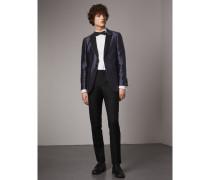 Elegantes Jackett aus Seide und Wolle in Soho-Passform