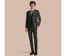 Körperbetonter Travel Tailoring-Anzug aus einer Leinenmischung