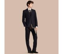 Klassisch geschnittener Anzug aus Wolle