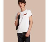 """T-Shirt aus Baumwolle mit """"Passion""""-Motiv"""