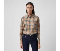 Oversize-Bluse aus Baumwolle